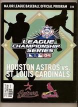 2004 NLCS Program Astros Cardinals NL championship - $42.08