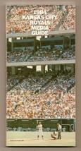 1984 Kansas City Royals Media Guide MLB Baseball - $18.70