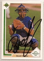 brook fordyce Signed Autographed Card 1991 Upper Deck - $9.90