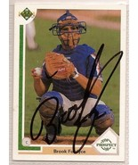 brook fordyce Signed Autographed Card 1991 Upper Deck - $9.50