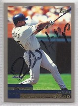 Richard Hidalgo Signed Autographed 2000 Topps Card - $9.50