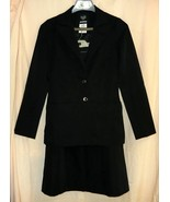 SALE~ Black Suit- Jacket-5/6    Skirt-7/8 by Panther  - $10.00