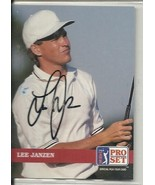 Lee Janzen Signed Autographed 1992 Pro Set Golf Card US Open - $9.50