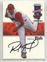 Robert Fish Signed Autographed Card 2008 Tristar Projections - $9.50