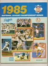 1985 NLCS program Cardinals @ Dodgers NL Championship - $42.08