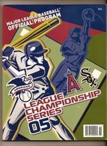2005 ALCS Game Program White Sox Angles - $42.08