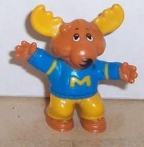 1984 Tomy Get Along Gang Montgomery Moose PVC figure Vintage - $14.03