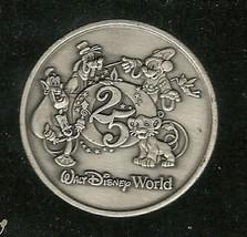 1996 Walt Disney World Commemorative Coin Rare 25th Anniversary Vintage - $42.08