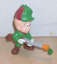 Vintage 80's  Warner Brothers Elmer Fudd PVC Figure VHTF Rare - $27.88