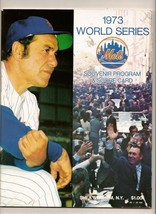 1973 World Series Program Oakland A's @  NY METS - $54.45