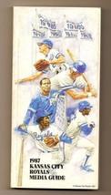 1987 Kansas City Royals Media Guide MLB Baseball - $18.70