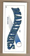 1987 Seattle Mariners Media Guide MLB Baseball - $18.70