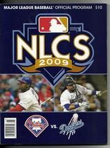 2009 NLCS Program Dogers Phillies - $42.08