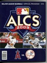 2009 ALCS Program Angels Yankees - $44.55