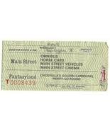 Walt Disney World Child A Attraction used Ticket Vintage Rare 70's - $18.70