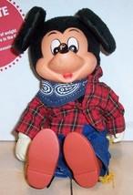 "Walt Disney MICKEY MOUSE 8"" plush stuffed toy Rare Vintage #4 - $21.04"