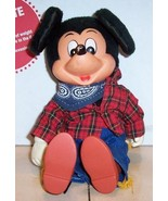 "Walt Disney MICKEY MOUSE 8"" plush stuffed toy Rare Vintage #4 - $21.04"