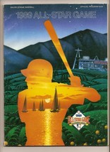 1989 baseball MLB All Star Game Program Anahime - $32.73