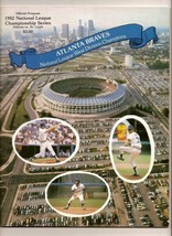 1982 NLCS Game program Cardinals @ Braves NL Championship - $42.08
