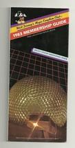 1983 Walt Disney World Magic Kingdom Club Brochure - $28.05