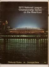 1970 NLCS game program Pirates @ Reds NL Championship - $107.53