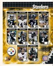 2006 Pittsburgh Steelers Composite 8x10 Photo Roethlisberger Ward polama... - $9.50