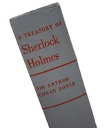 The Treasury of Sherlock Holmes 1955 Sir Arthur Conan Doyle - Grey Hardb... - $9.95