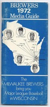 1972 Milwaukee brewers Media Guide - $32.73