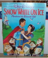 1986 Walt Disney's Snow White On Ice Program vintage Rare OOP - $44.55