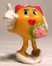 1982 Coleco Mrs Pac Man Bride PVC Figure Vintage VHTF Rare - $28.05