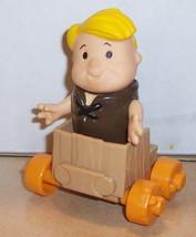 1986 Coleco Flintstone Kids Barney Figure Htf Vintage - $23.38