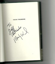 Irish Thunder The Hard Life and Times of Micky Ward SIGNED Book 1st Ed - £65.95 GBP