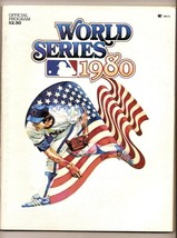 1980 World Series Program Phillies royals SCHMIDT Rose - $32.73