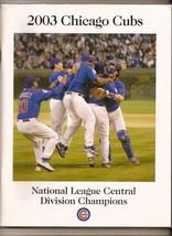 2003 Chcago Cubs NLDS Media Guide - $42.08