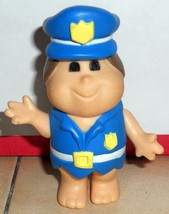1986 Coleco FLINTSTONE KIDS Police officer Figu... - $23.38