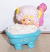1981 Kenner Miniature PVC figure Strawberry Shortcake Angle Cake Taking ... - $9.50