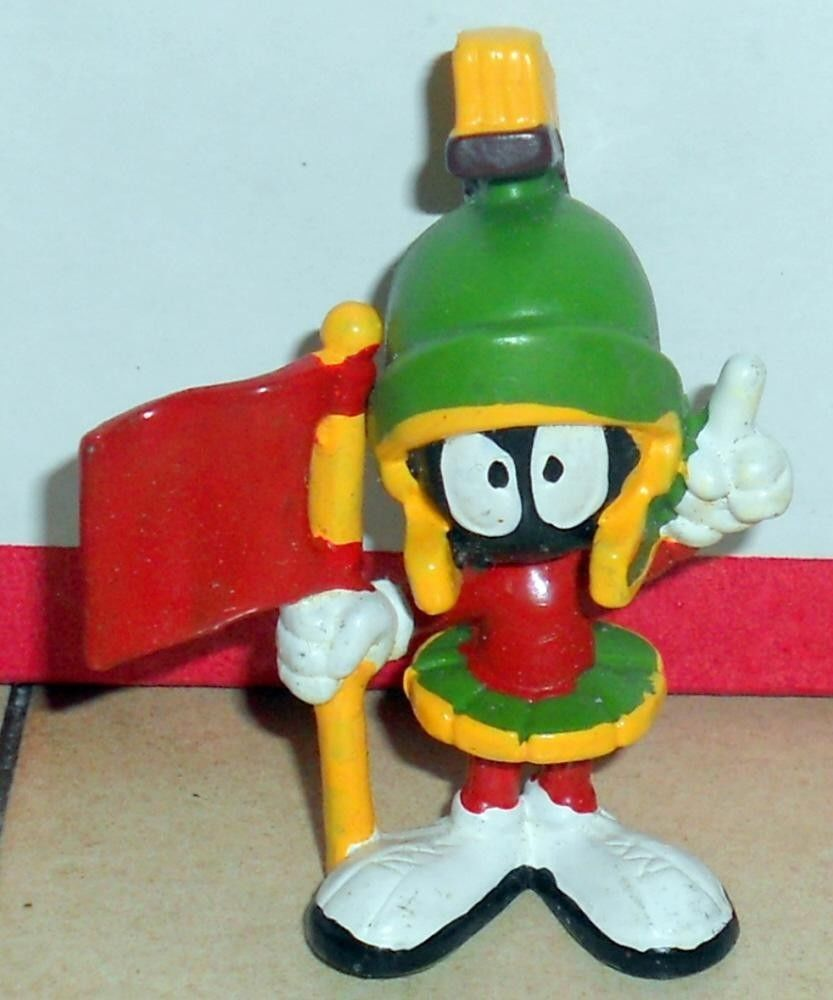 Vintage 80's  Warner Brothers Marvin Martian PVC Figure VHTF Rare - $29.70