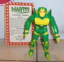 1984 KENNER SUPER POWERS Mantis action Figure Complete with Bio Card HTF - $39.60