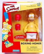 2001 SIMPSONS BOXING HOMER TOYFARE EXCLUSIVE MAIL AWAY FIGURE NEW - $42.08