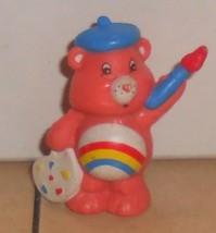 1984 Kenner Care Bears Cheer Bear Mini Pvc Figure Vintage 80's #5 - $14.00