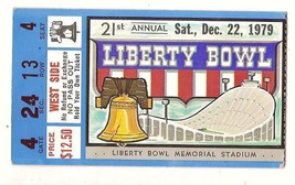 1979 Liberty Bowl Game ticket stub Penn State Tulane - $85.00