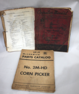 McCormick International Corn Picker Parts Catalog 2M-HD & Manuals 1-PR 2... - $14.95