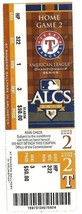 2010 ALCS Full Season ticket Yankees Rangers game 2 - $45.00