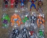 1990 Toy Biz Marvel Super Heroes 15 figure Collection Lot Rare HTF