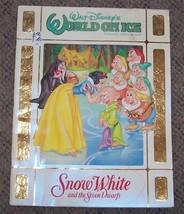 1994 Walt Disney's World On Ice Snow White & The Seven Dwarfs Program Ra... - $44.55