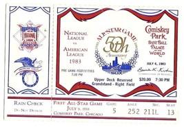 1983 MLB Baseball All Star Game Ticket Stub White Sox - $116.88