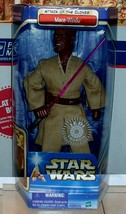 2002 Star Wars AOTC attack of the clones Mace Windu TRU Exclusive action... - $46.75
