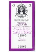 1996 PGA Championship Full Ticket Thursday 8 8 1st Round Mark Brooks - $79.48