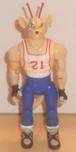 1993 Galoob Biker Mice From Mars Slam Dunk Vinnie Action Figure Sports B... - $14.00