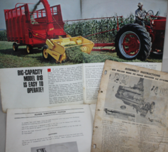 New Holland Manuals Models 8181, 680, 818 Forage Harvester - $21.95